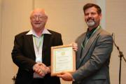 2013 QC OSPA winner George Lazarovits & John Bamberg, EiC