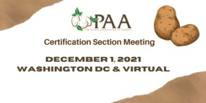 PAA Certification 2021 Banner